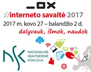 INTERNETO SAVAITE 2017 LIETUVOJE